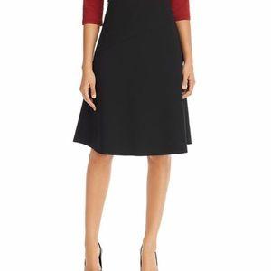Wool blend  wrap skirt